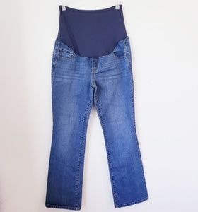 Old Navy full panel bootcut maternity jeans sz 12